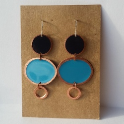 abbie powers copper earrings