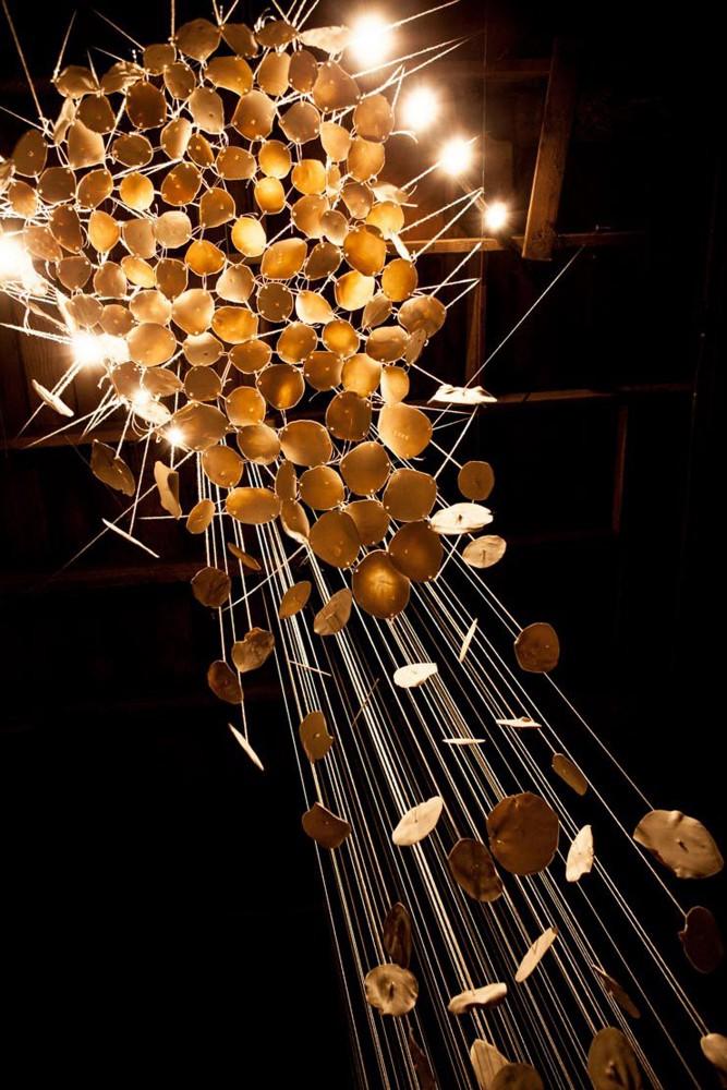 abbie r powers suspended ceramic installation art