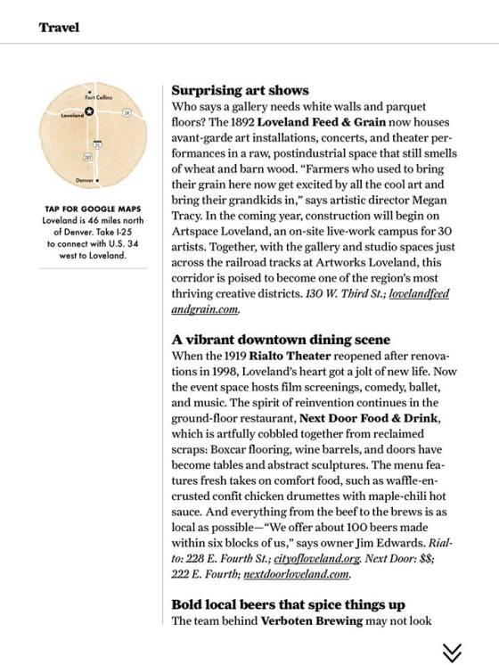 sunset magazine contemporary art in loveland colorado