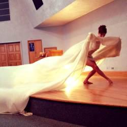 silk performance art, abbie powers